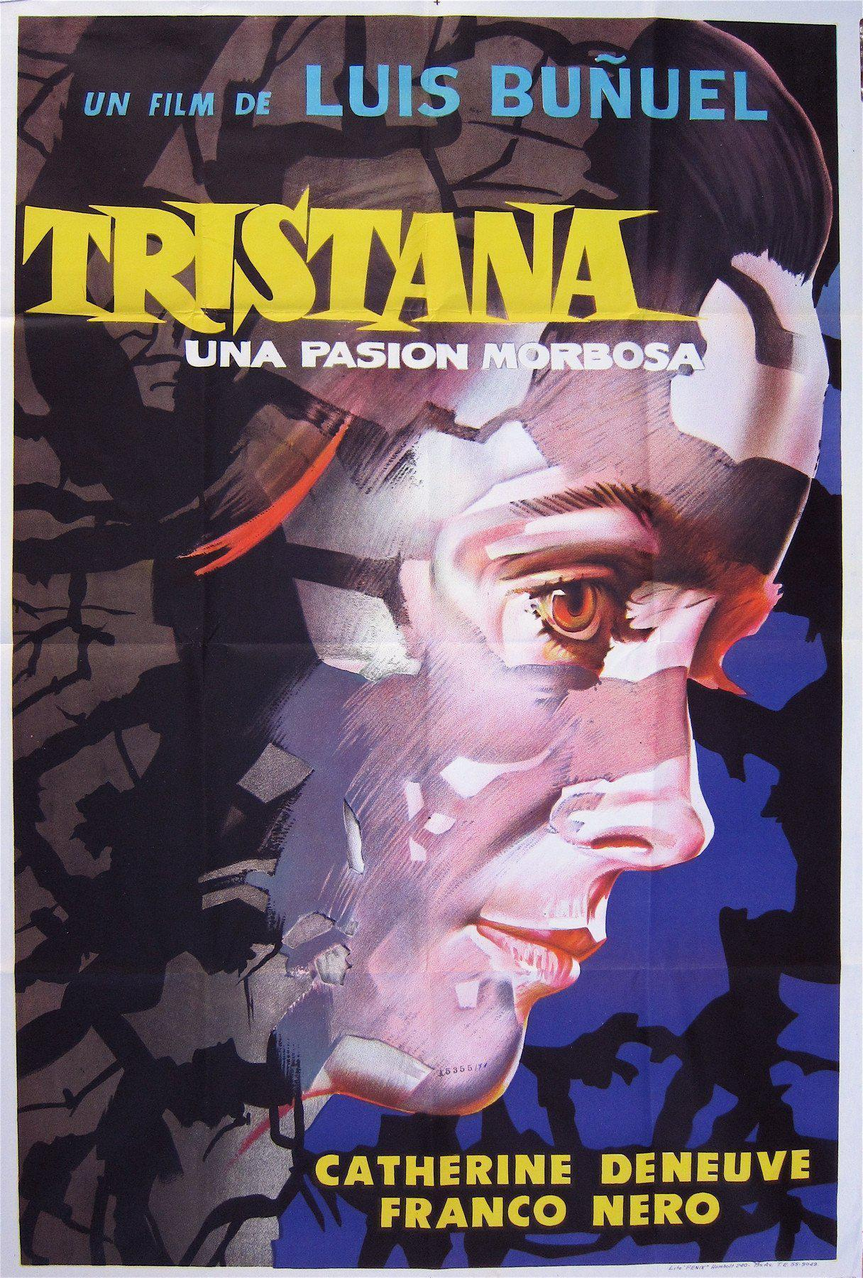 Tristana 1 Sheet (27x41) Original Vintage Movie Poster