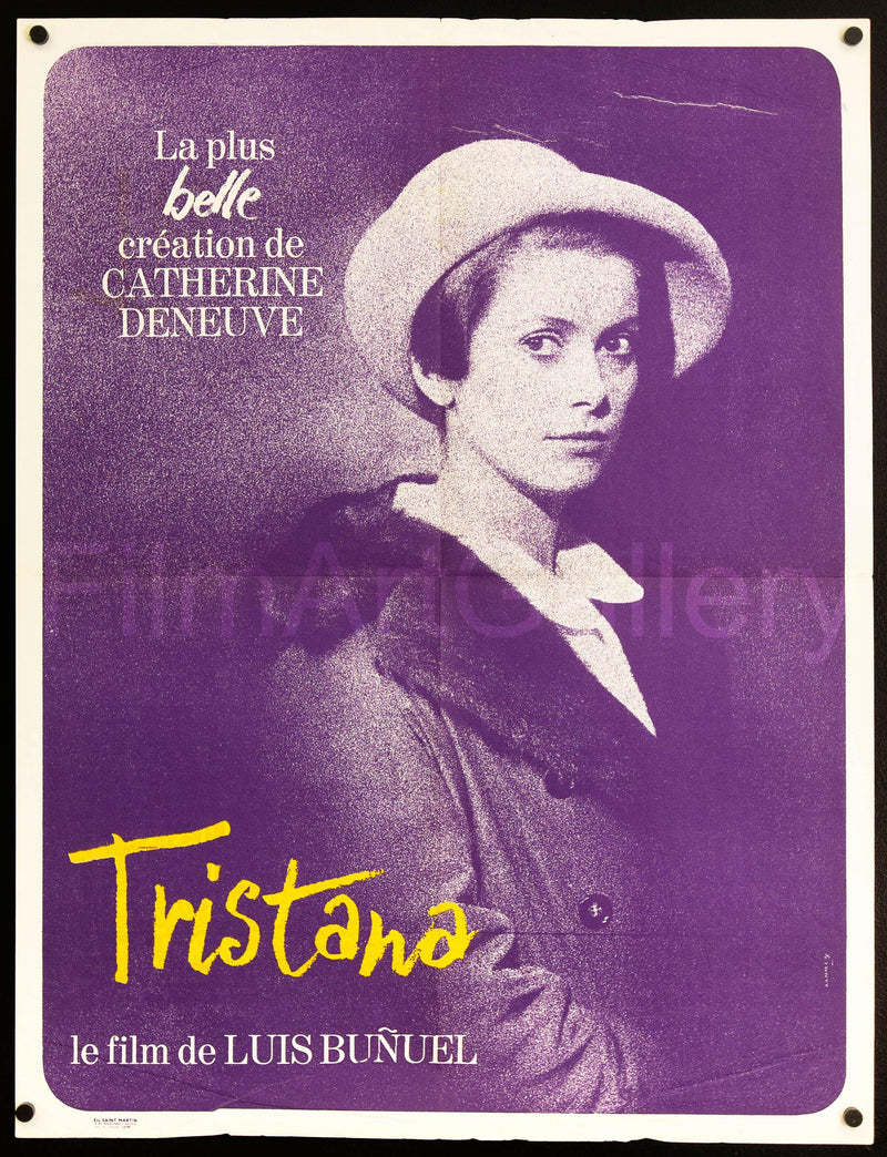 Tristana French small (23x32) Original Vintage Movie Poster