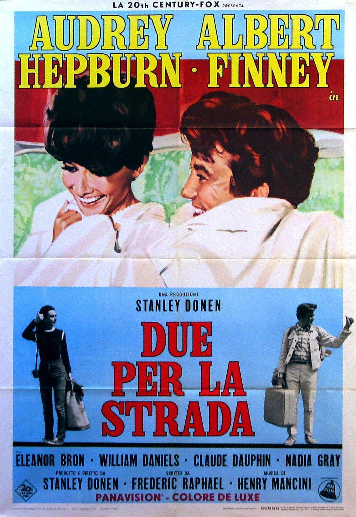 Two for the Road Italian 2 foglio (39x55) Original Vintage Movie Poster