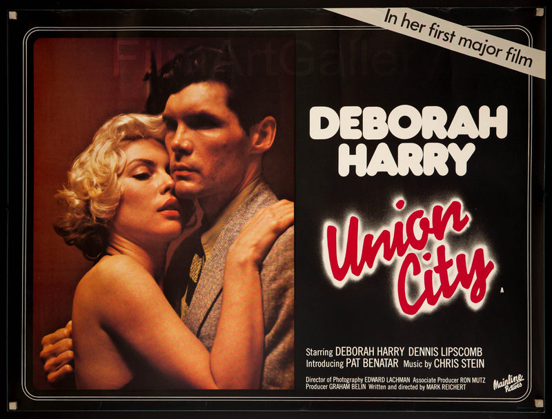 Union City British Quad (30x40) Original Vintage Movie Poster