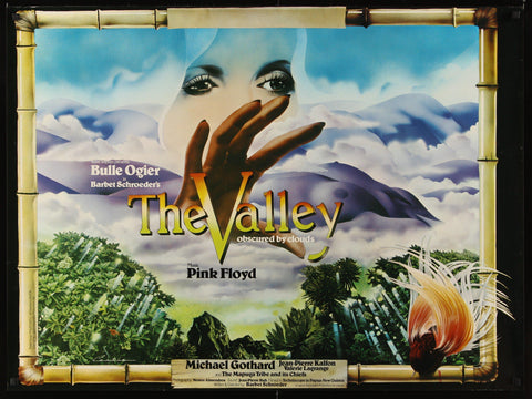Valley Obscured by the Clouds British Quad (30x40) Original Vintage Movie Poster