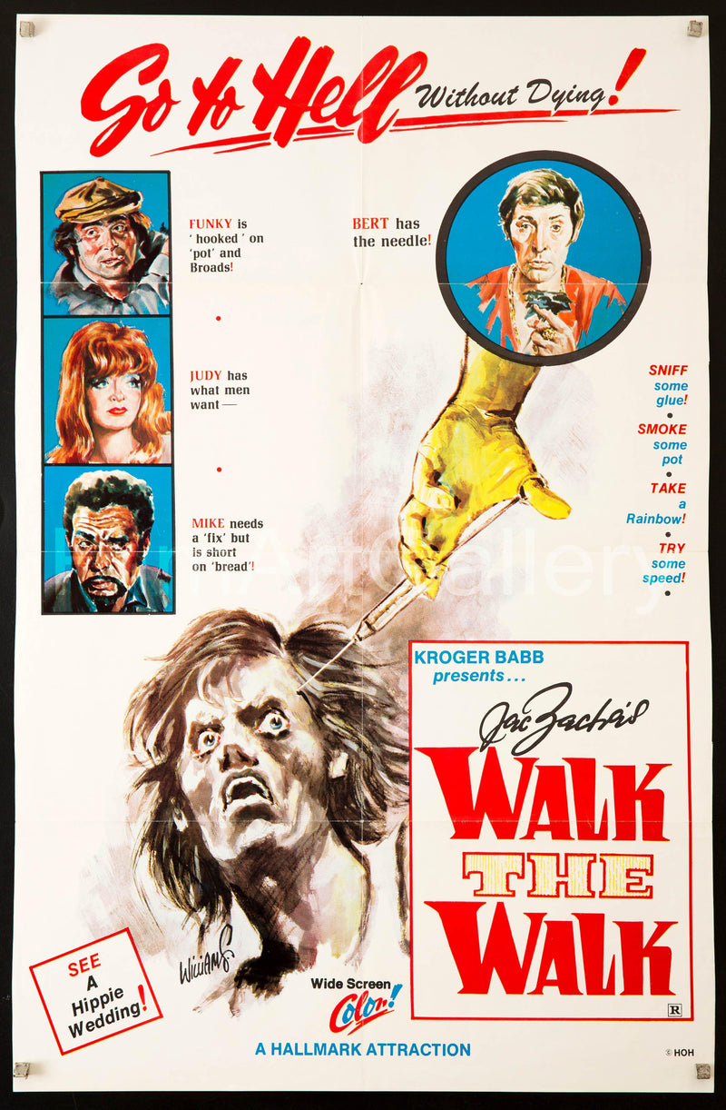 Walk the Walk 1 Sheet (27x41) Original Vintage Movie Poster