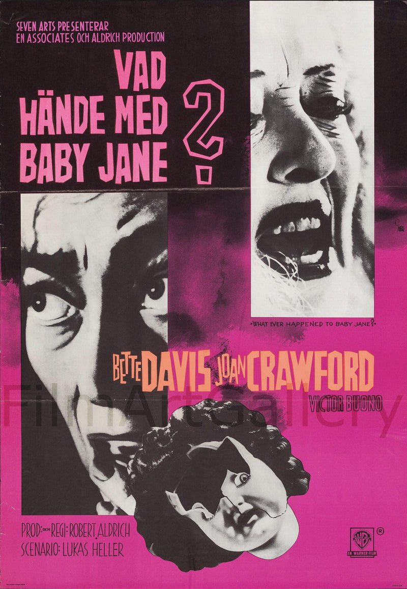 Whatever Happened to Baby Jane? 1 Sheet (27x41) Original Vintage Movie Poster