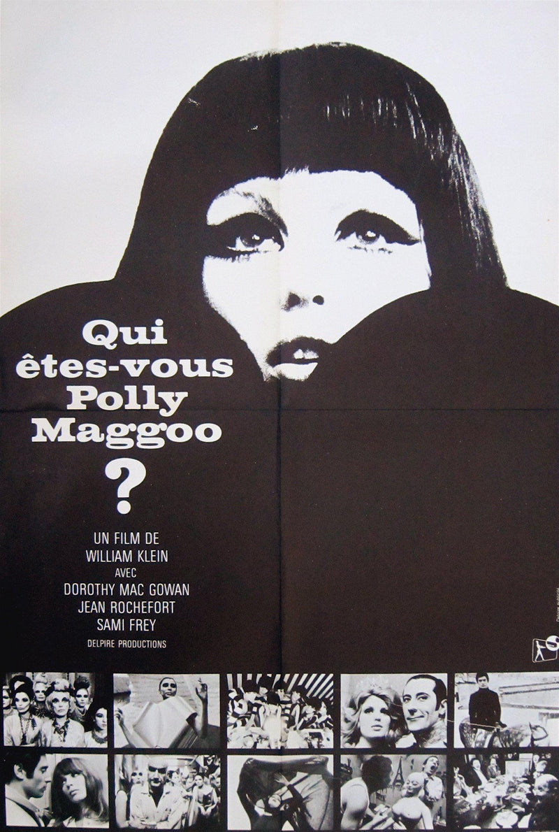 Who Are You, Polly Maggoo? (Qui Etes-Vous, Polly Maggoo) French small (23x32) Original Vintage Movie Poster