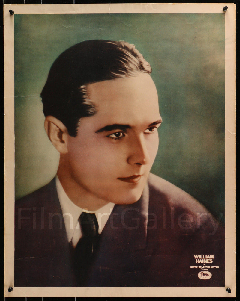 William Haines 22x28 Original Vintage Movie Poster