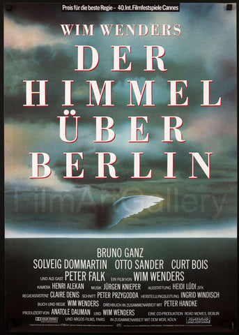 Wings of Desire German A1 (23x33) Original Vintage Movie Poster