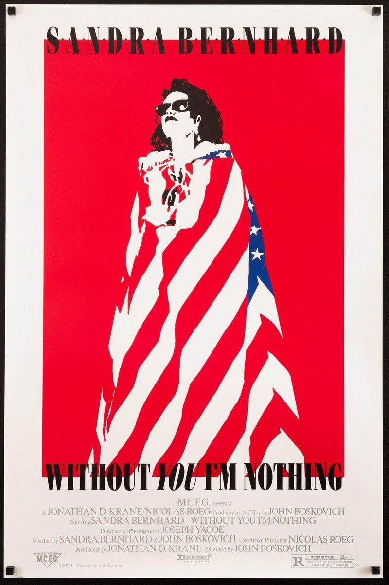 Without You I'm Nothing 1 Sheet (27x41) Original Vintage Movie Poster