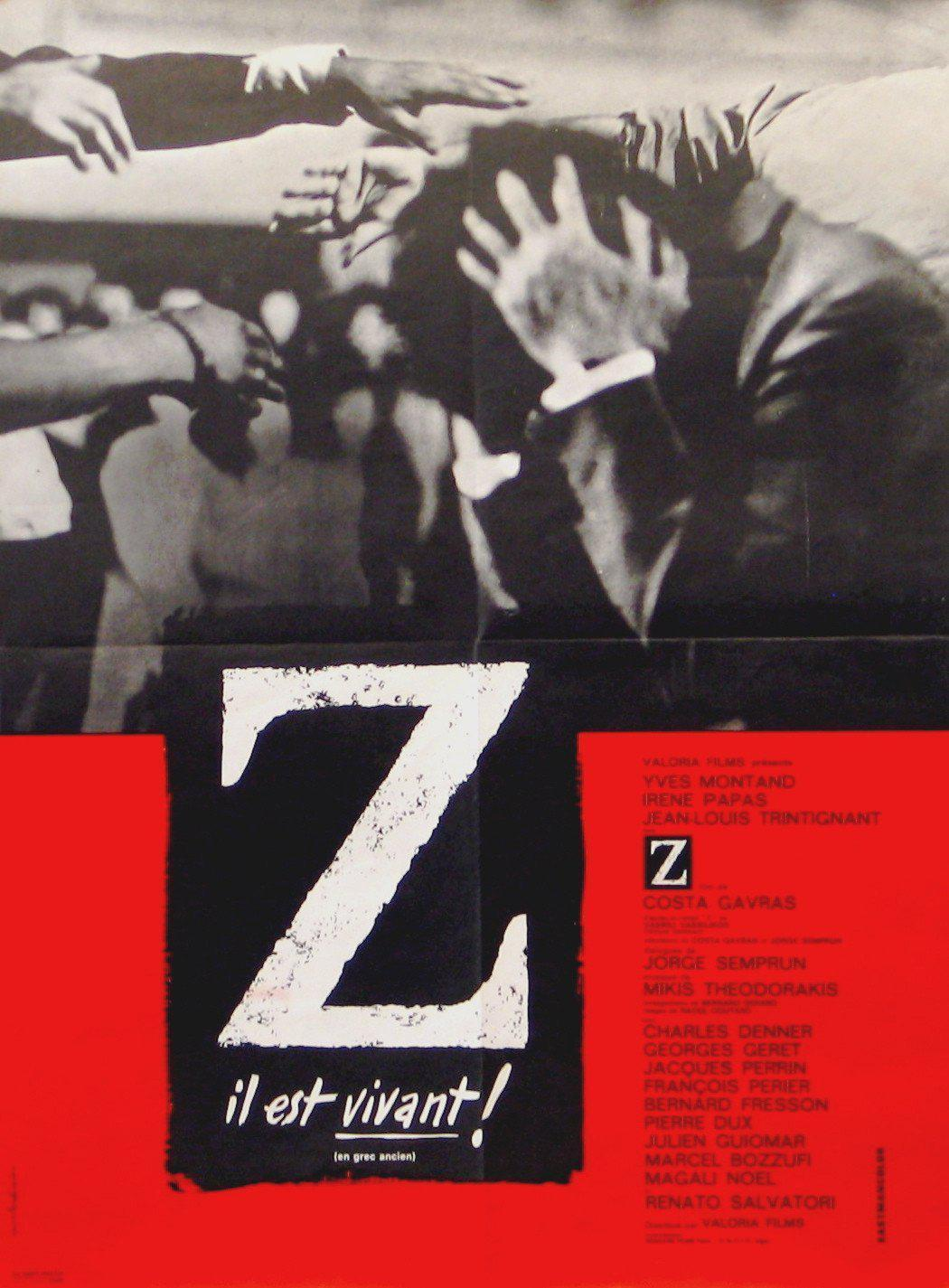 Z French small (23x32) Original Vintage Movie Poster