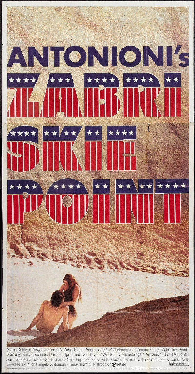 Zabriskie Point 3 Sheet (41x81) Original Vintage Movie Poster