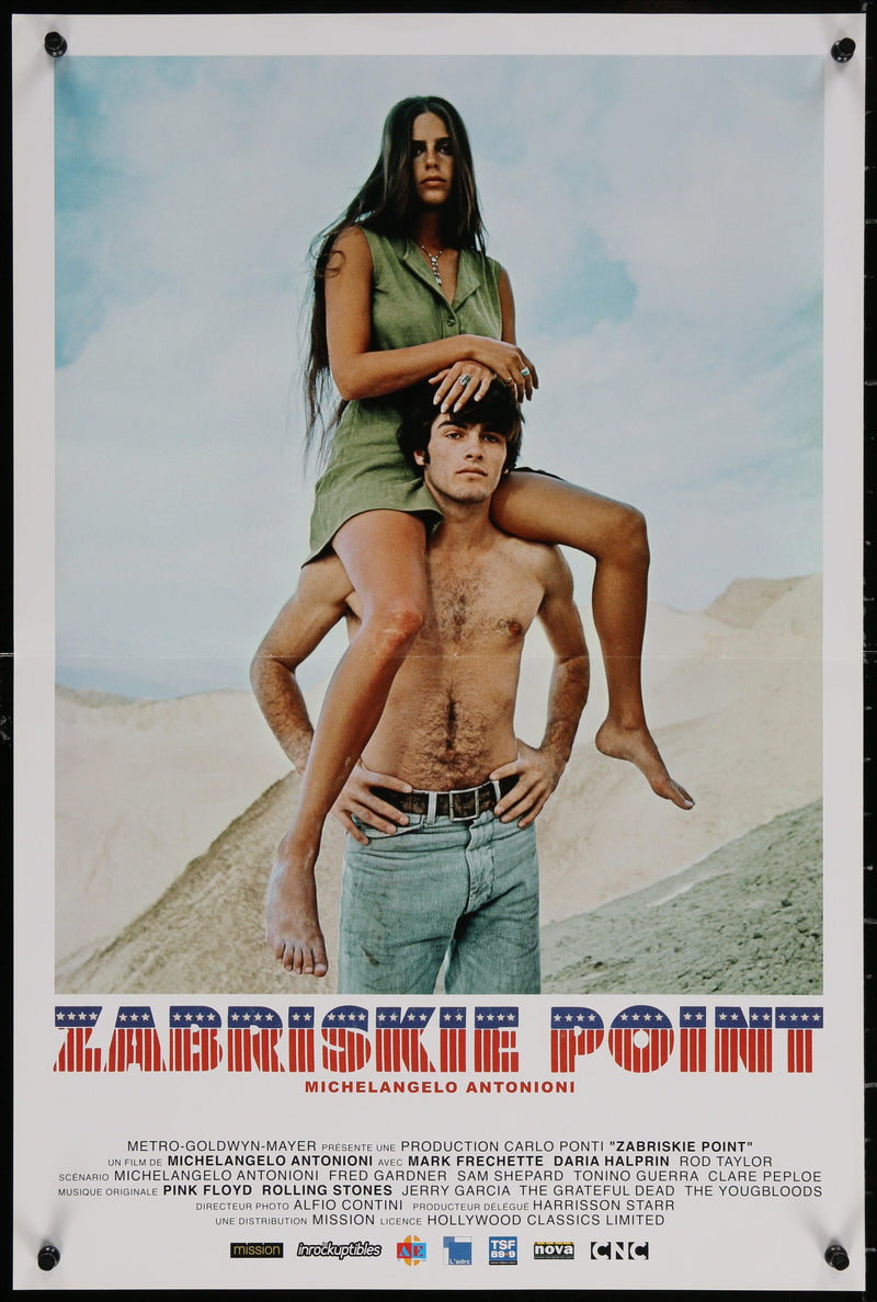 Zabriskie Point French Mini (16x23) Original Vintage Movie Poster