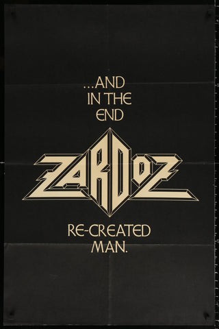 Zardoz 1 Sheet (27x41) Original Vintage Movie Poster