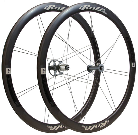 Road Bicycle Wheels - alloy, carbon - Hand-built US - Rolf Prima