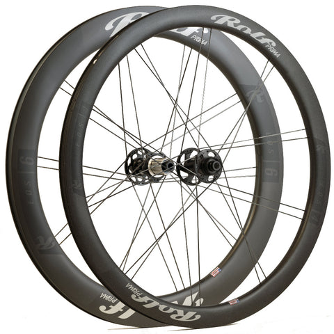 Eos4 Front & Eos6 Rear Carbon Disc Brake Wheelset