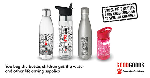 Save The Children Waterless Water Bottles at Kids Camping Store