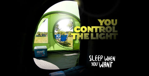 Blackout Sleeping Pod