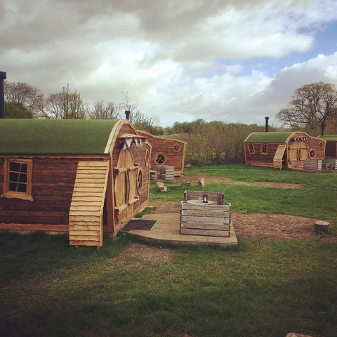 The Hobbit Houses at The Hideaway @ Baxby Manor, in the Kids Camping Store Blog