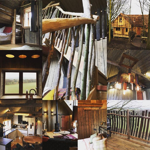 Images of Rufus's Roost, the new Luxury Treehouse @ Baxby Manor