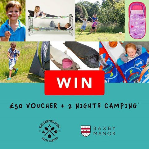 Baxby Manor & Kids Camping Store competition
