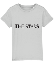 "Load image into Gallery viewer, ""The stars... are my lights"" 2-Sided Kids Camping T-Shirt"