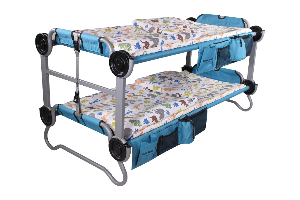 Dinky Duvalay, Childrens Luxury Camping Bed on Kid o Bunk camping bunk beds, at Kids Camping Store