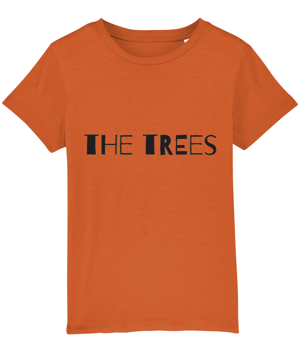"""The trees... are my signposts"" 2-Sided Kids Camping T-Shirt"