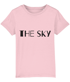 """The sky...is my roof"" 2-Sided Kids Camping T-Shirt"