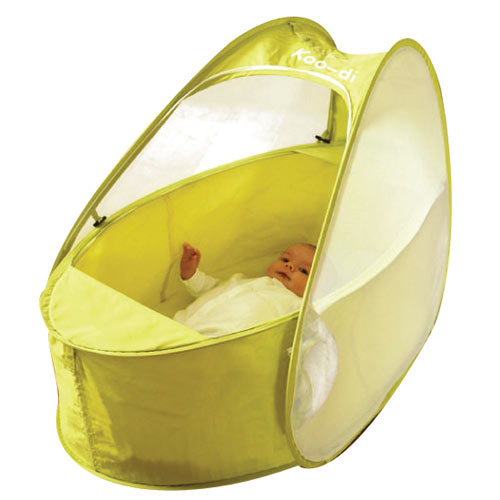 Pop-Up Travel Bassinet / Cot (with padded mattress), at Kids Camping Store