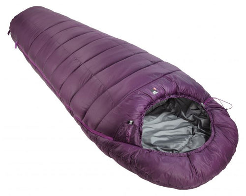 Sprayway Children's Sleeping Bag in Blackcurrant/Pink