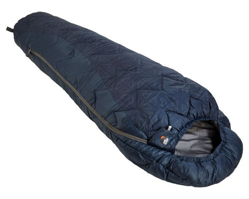 Sprayway Children's Sleeping Bag in Blazer Blue & Chrome
