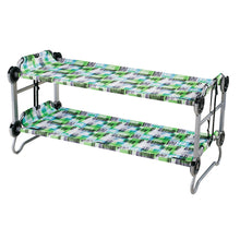"Load image into Gallery viewer, Kid o Bunk with ""Block Pattern"" Camping Bunk Beds"