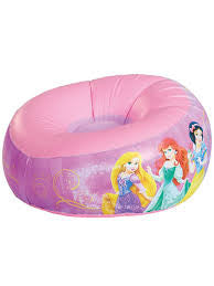 Disney Princess Inflatable Camping Chair (18m+) - Kids Camping Store