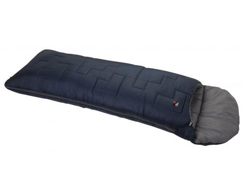 Endeavour 350 Children's 3-4 season sleeping bag in blazer & chrome, at Kids Camping Store
