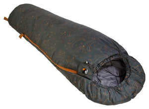 2-3 Season baby and toddler sleeping bag with fox design, for camping and sleepovers