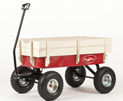 Main view of Retro Toby Wagon (Festival Trolley) for Children at camping festivals and events, from Kids Camping Store
