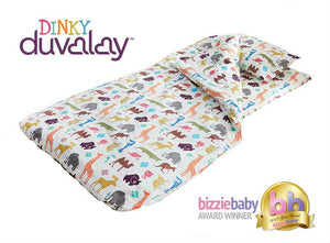 Main image of Dinky Duvalay, Childrens Luxury Camping Bed, at Kids Camping Store