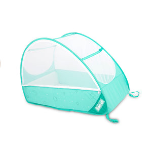Pop-Up Travel Bubble Cot for camping babies, at Kids Camping Store