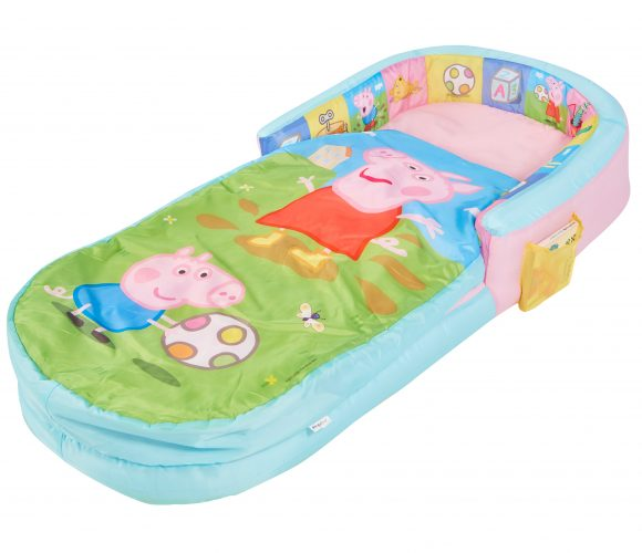 "Peppa Pig MyFirst ReadyBed ""Air Bed"" for children to sleep on when camping, from Kids Camping Store"