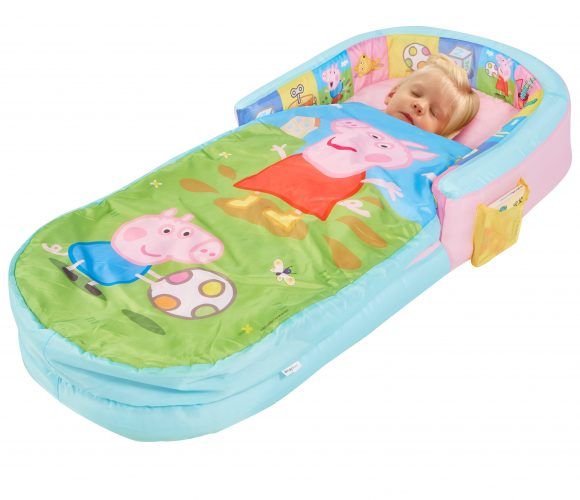 "Toddler in Paw Patrol MyFirst ReadyBed ""Air Bed"" for children to sleep on when camping, from Kids Camping Store"
