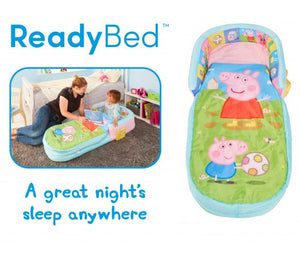 "Paw Patrol MyFirst ReadyBed ""Air Bed"" for children to sleep on when camping, from Kids Camping Store marketing image"