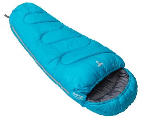 Vango Atlas Junior Children's Sleeping Bag in Bondi Blue