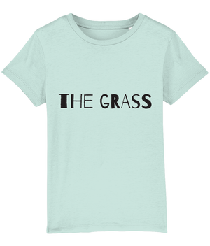 """The grass... is my carpet"" 2-Sided Kids T-Shirt"
