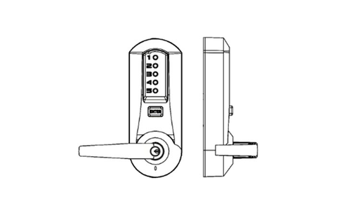 Kaba Simplex 5000-Series Pushbutton Lock