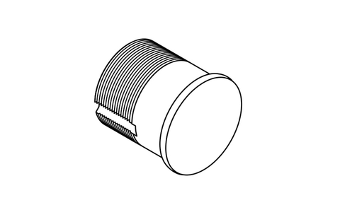 "Ilco 1 1/8"" Mortise Dummy Cylinder"