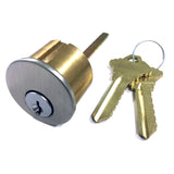 Rim Cylinder Lock with Keys
