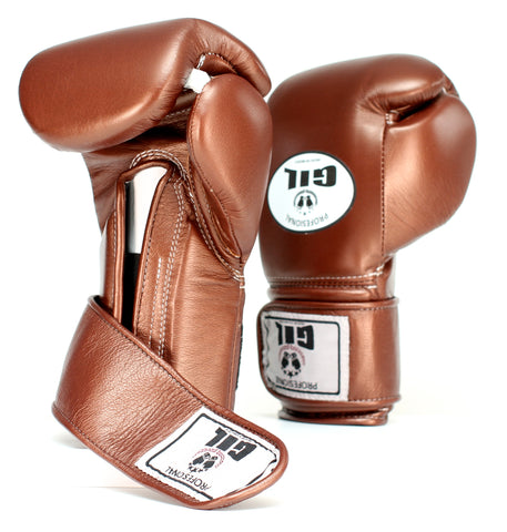 GIL Professional Boxing Gloves w/ Velcro Wrist Closure - Casanova Boxing USA