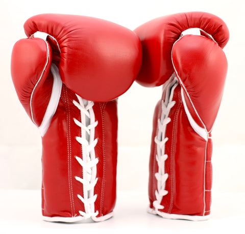 Leather Edged Seam w// Double Stitching Necalli Professional Boxing Gloves