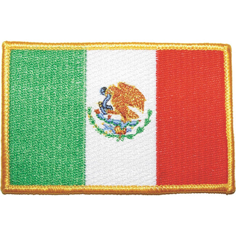 Mexico Flag Patch - Casanova Boxing USA
