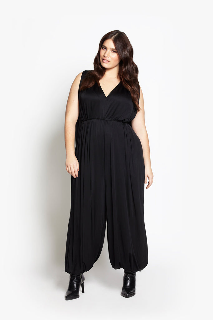 Modern Love Jumpsuit - Noir