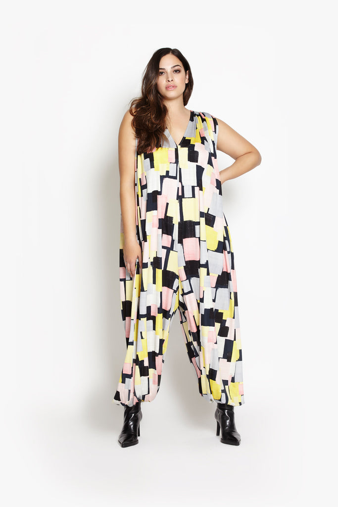 Modern Love Jumpsuit - Times Squares