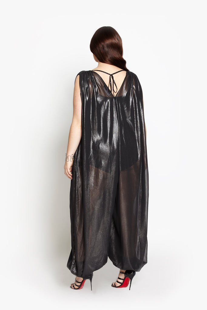 Modern Love Jumpsuit - Liquid Black